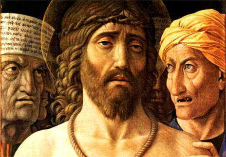 Andrea Mantegna, »Ecce homo« (Ausschnitt), 1502