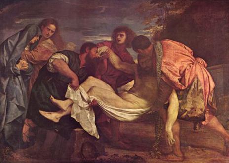 Tizian, »Grablegung Christi«, 1525