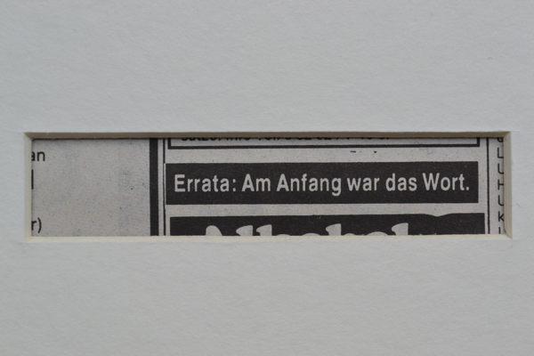 Errata, Anzeige, Stuttgarter Wochenblatt, 1989
