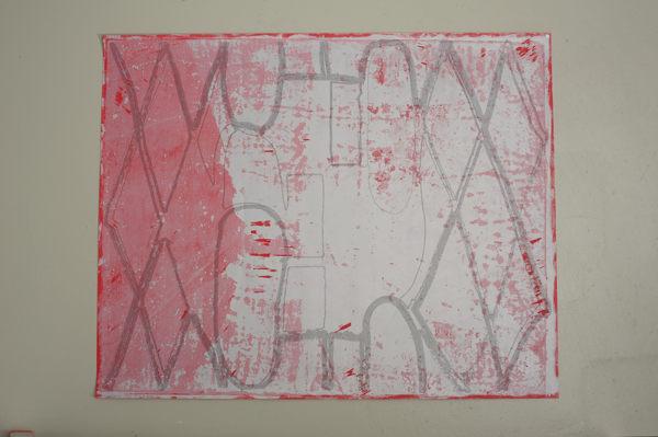 Wu+uMu+uW, Palindromschleifenzeichnung, 2012
