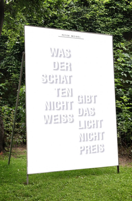 Peter Weibel – »Schatten & Licht«