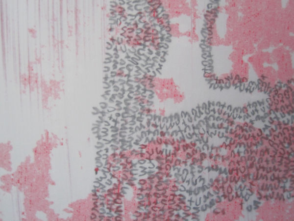 Wu+uMu+uWPalindromschleifenzeichnung, Detail, 2012