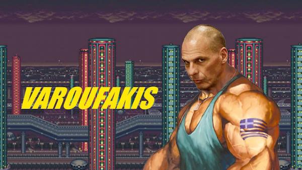 Abbildung 33: Videostil. Aus: Varoufakis Fighter. 0:03 min. Auf: https://www.youtube.com/watch?v=mGwxH_tTm7k.