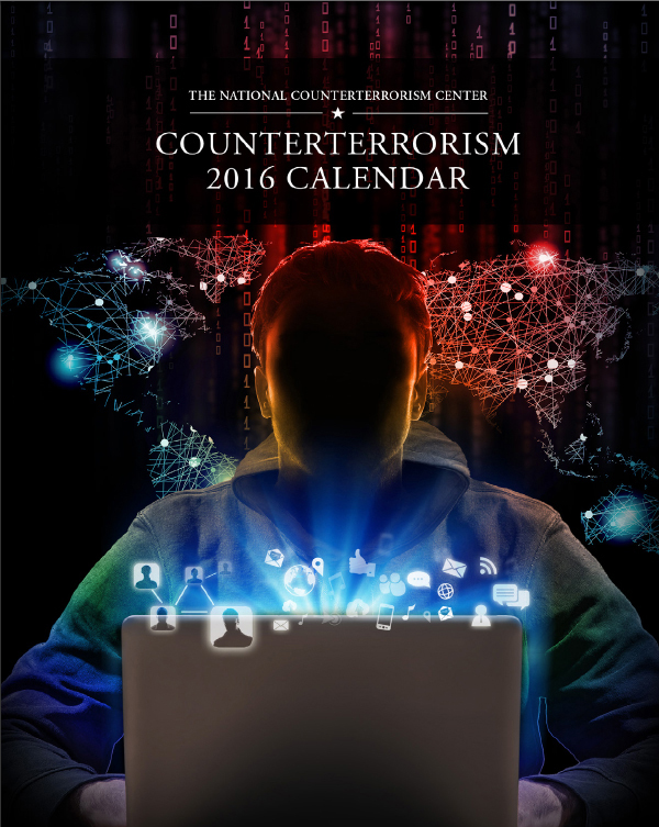 Abbildung 3: Counterterrorism Calendar 2016, Titel, Hg. National Counterterrorism Center.