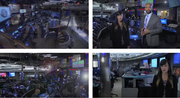 Abbildung 7: »Inside NCTC Video«, Standbilder, https://www.nctc.gov/index.html, Stand: 30.5.2016.
